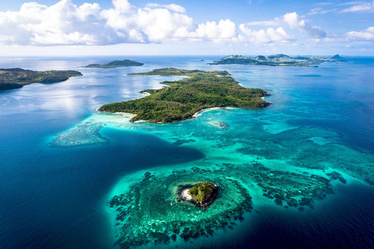 Turtle Island Fiji_Aerial